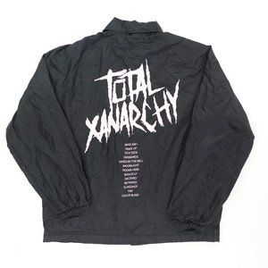Lil Xan Total Xanarchy Lined Snap Coaches Jacket